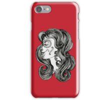 Sugar Skull Sweetheart II iPhone Case/Skin