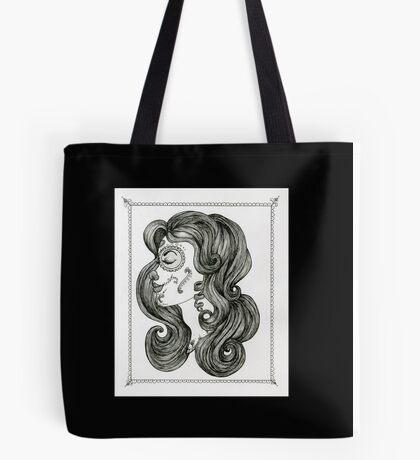 Sugar Skull Sweetheart II Tote Bag