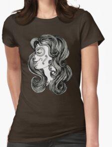 Sugar Skull Sweetheart II Womens Fitted T-Shirt