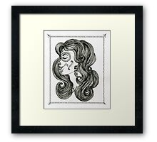 Sugar Skull Sweetheart II Framed Print