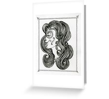 Sugar Skull Sweetheart II Greeting Card