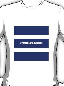 Team Black And Blue T-Shirt