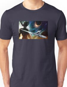 silver surfer glalactus  Unisex T-Shirt