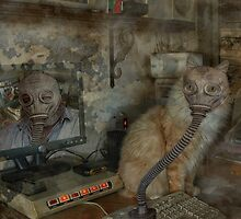 Toby's Toxic Work Space by Michael  Gunterman
