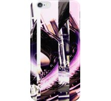 Pipes Abstract Digital 01 iPhone Case/Skin