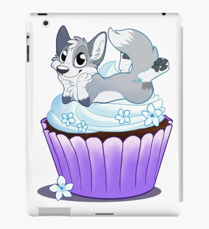Fox on a Cupcake iPad Case/Skin