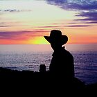 Sunset Cowboy by Gavin Reddrop