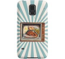 TV Dinner Samsung Galaxy Case/Skin