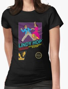 Dance Dance Retro-lution Womens Fitted T-Shirt