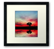Dream Pool Framed Print