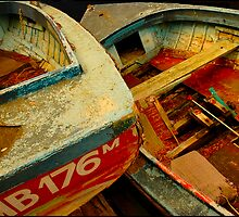 Old Fishing Boats by Albert Sulzer