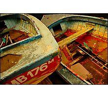 Old Fishing Boats Photographic Print
