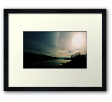 Morning Magestic Framed Print