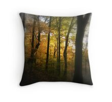 Light in the Trees Throw Pillow