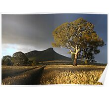 Wild Light over the Grampians, Dunkeld, Australia Poster