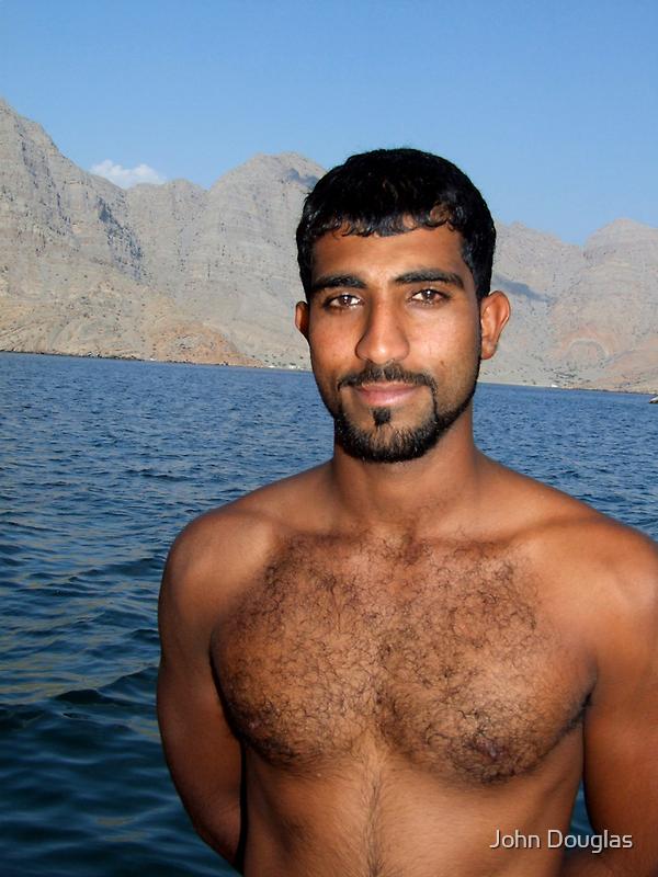 Dhow Captain, Oman by John Douglas