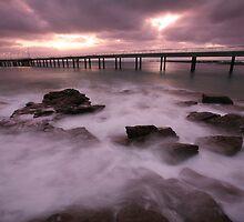 Lorne Pier Dawn, Australia by Michael Boniwell