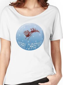 Xmas Moon Women's Relaxed Fit T-Shirt