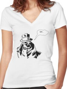 Rorschach Women's Fitted V-Neck T-Shirt