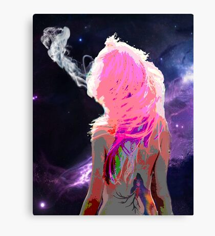 Indigo Cocaine Canvas Print