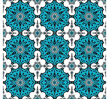 Pattern in turkish style Photographic Print