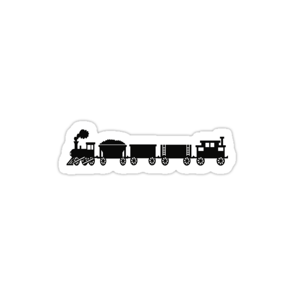 Train Tee by Sharon Stevens