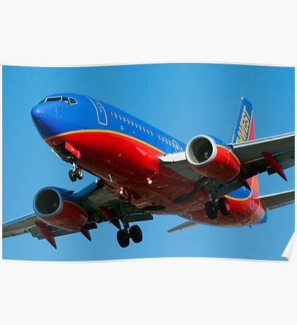 Southwest Airlines 737 Poster