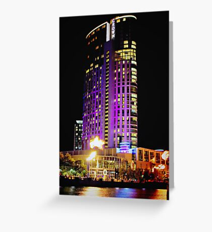 Crown Casino Hotel, Southbank, Melbourne Greeting Card