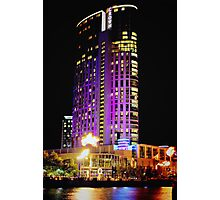 Crown Casino Hotel, Southbank, Melbourne Photographic Print