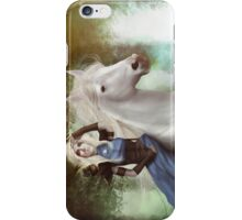 White Fire - Full Image  iPhone Case/Skin