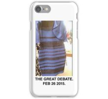 Black and Blue? White and Gold? iPhone Case/Skin