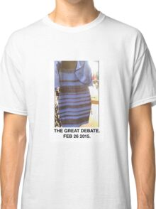 Black and Blue? White and Gold? Classic T-Shirt
