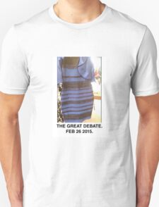 Black and Blue? White and Gold? T-Shirt