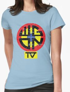 WGON TV Womens Fitted T-Shirt