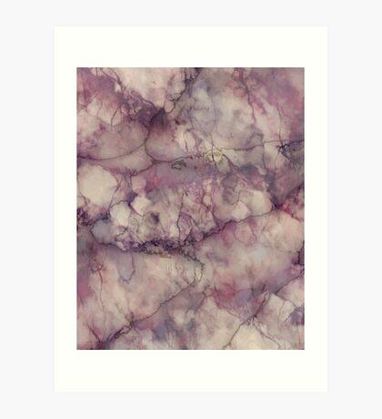Marble Art V1 Art Print