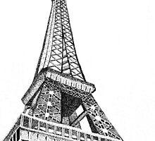 Eiffel Tower by daniellekong