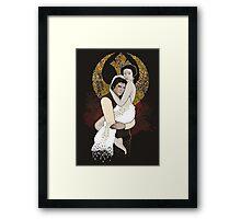 Rebel Love Framed Print