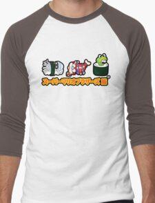 Super Mario Bros Sushi Men's Baseball ¾ T-Shirt