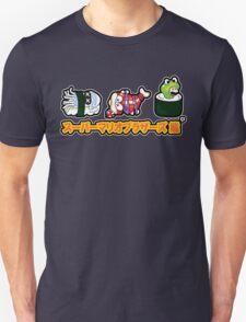 Super Mario Bros Sushi Unisex T-Shirt