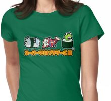 Super Mario Bros Sushi Womens Fitted T-Shirt