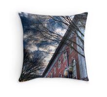 library HDR Throw Pillow