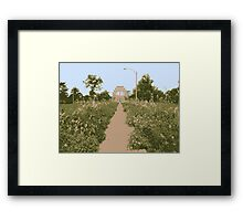 The Path to the Crown Framed Print