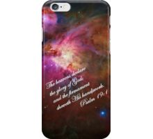 The Orion Nebula Declares! iPhone Case/Skin