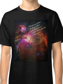 The Orion Nebula Declares! Classic T-Shirt