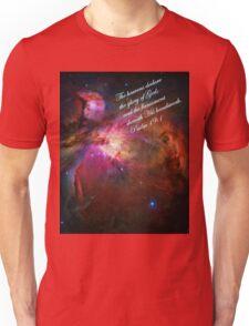 The Orion Nebula Declares! Unisex T-Shirt