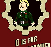 D is for Dirty Commie by Gevork Sherbetchyan