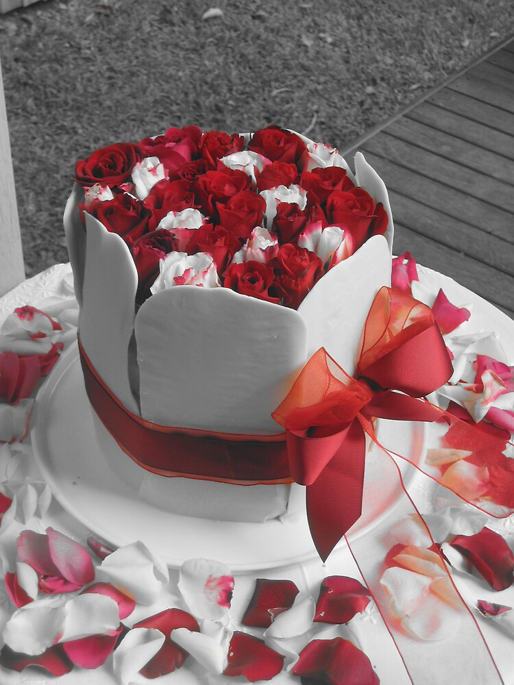 Homemade Wedding Cake 2 by justineb