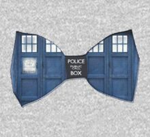 """""""Bow Ties ARE Cool."""" - Dr. Who (Bow tie image only) One Piece - Short Sleeve"""