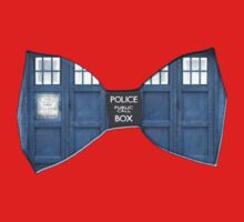 """""""Bow Ties ARE Cool."""" - Dr. Who (Bow tie image only) Kids Clothes"""