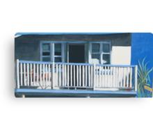 The Verandah - acrylic on canvas Canvas Print